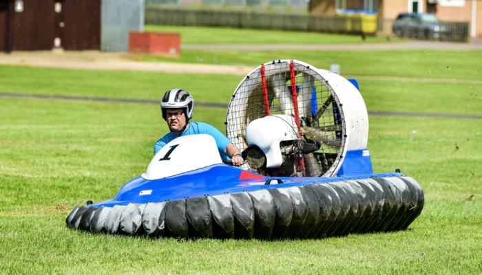 Hovercraft Relay Course