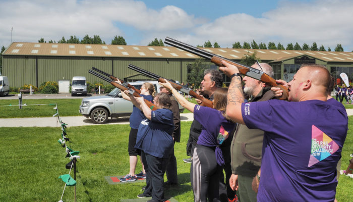 Laser Clay Shoot